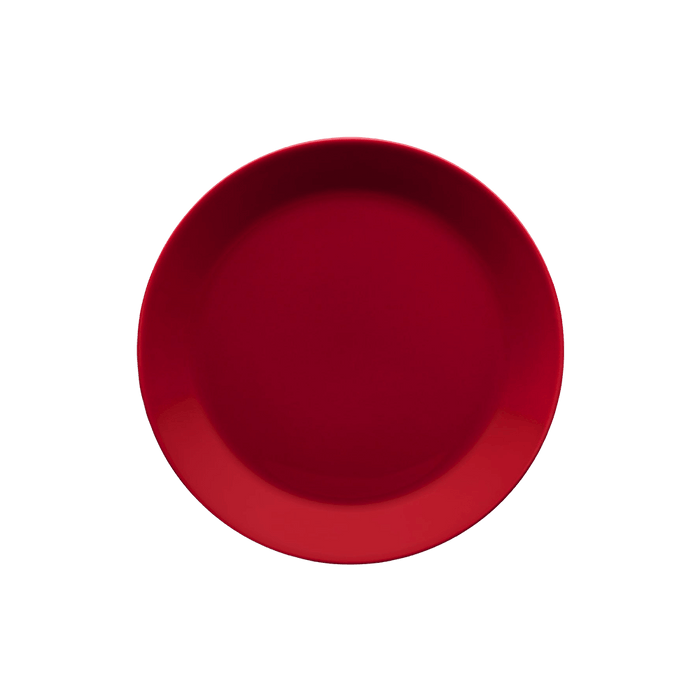 iittala Teema Red Plate - 8.3 in (21 cm)
