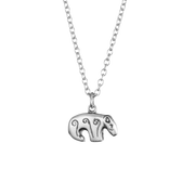 Kalevala Bear Silver Necklace