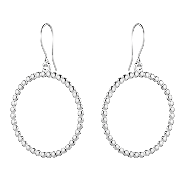Kalevala Circle of Light Silver Earrings