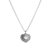 Kalevala Eura Heart Silver Necklace