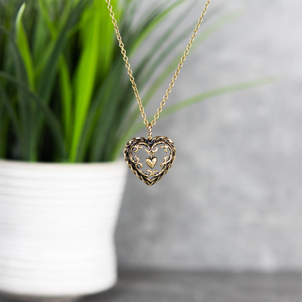 Kalevala Heart of the House Bronze Necklace