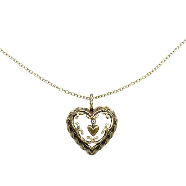 Kalevala Heart of the House Bronze Necklace (1385074131022)