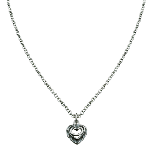 Kalevala Heart of the House Silver Necklace