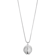 Kalevala Snow Flower Silver Necklace