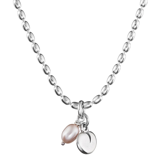 Kalevala Twinflower Silver Necklace (1384837349454)