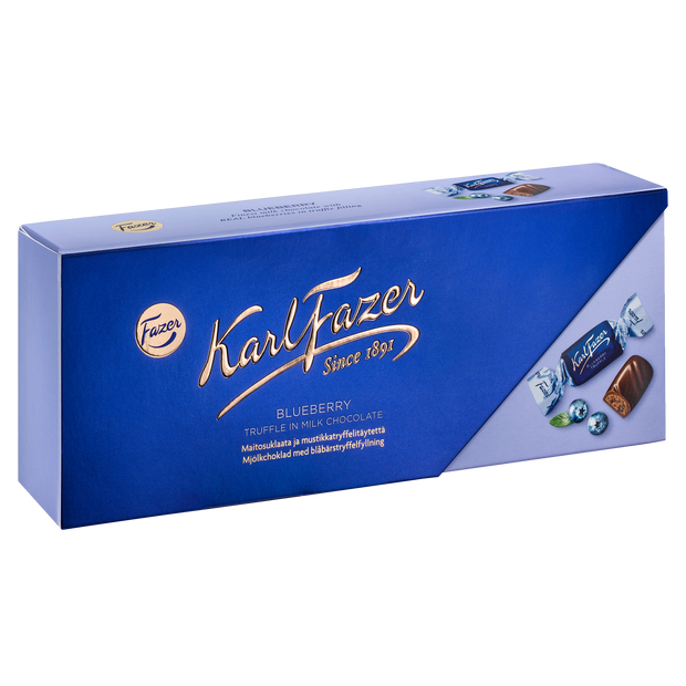 Fazer Blueberry Truffle Milk Chocolate Box (270g)