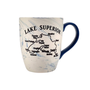 Lake Superior Marbled Coffee Mug