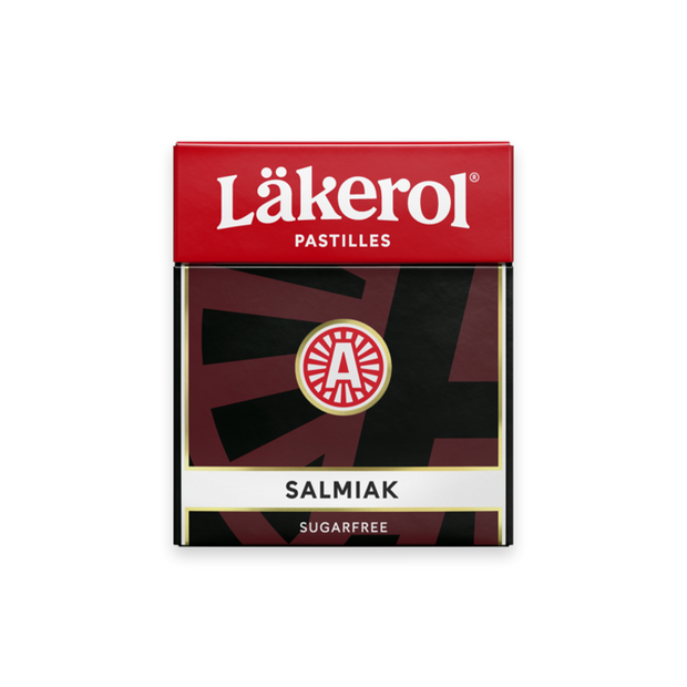 Lakerol Salmiak Licorice Pastilles