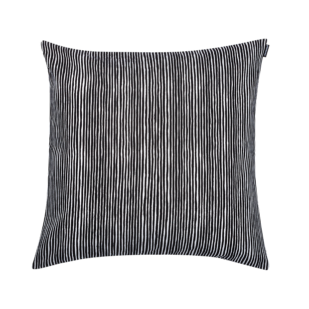 Marimekko Varvunraita Black/White Cushion Cover