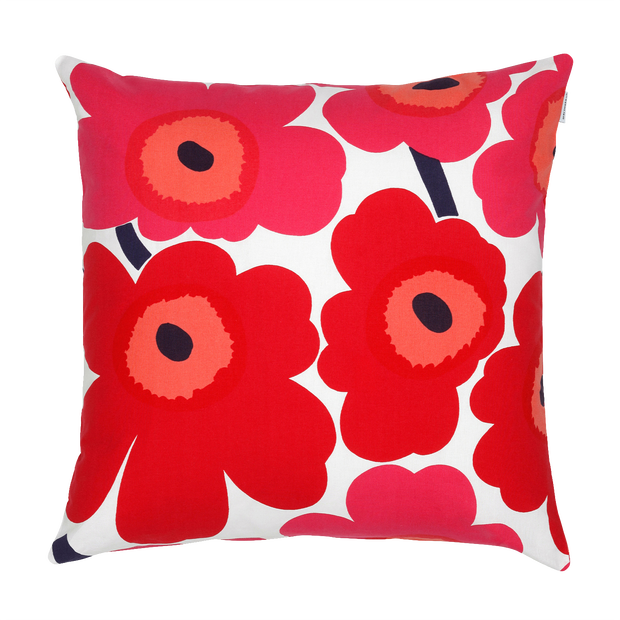 Marimekko Pieni Unikko Red Cushion Cover