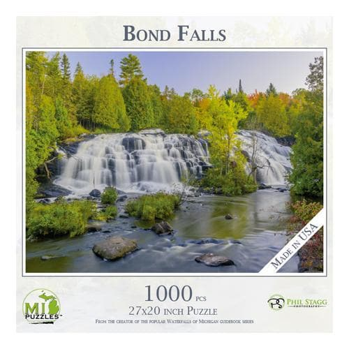 Michigan Puzzle - Bond Falls Yooper Books Touch of Finland (179335397382)