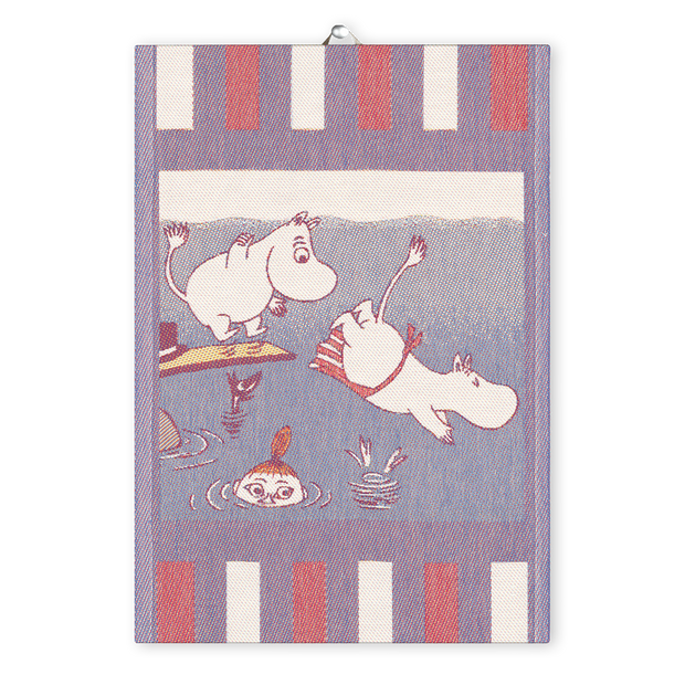 Ekelund Moomin Dive Tea Towel