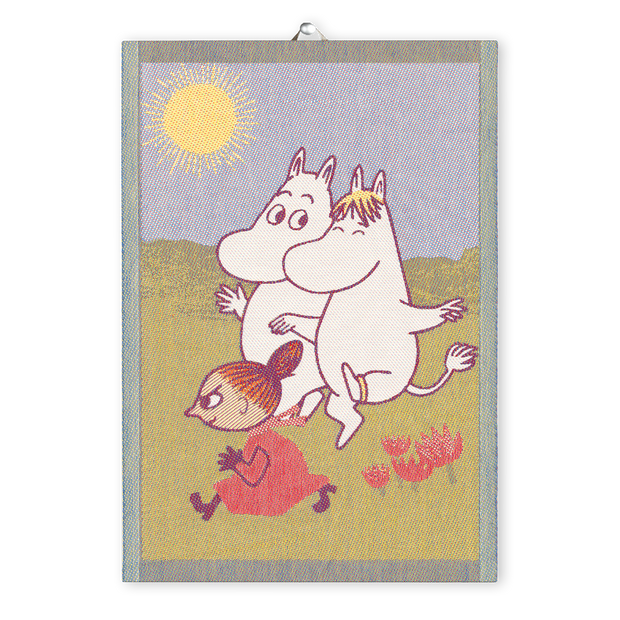 Ekelund Moomin Running Tea Towel
