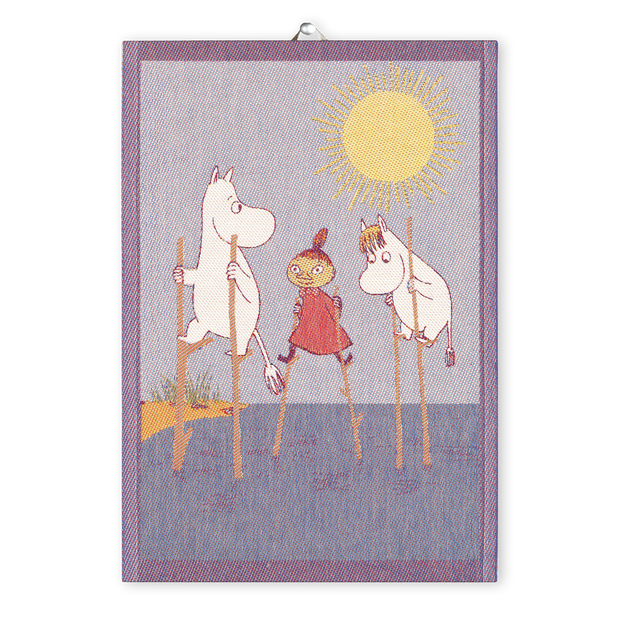 Ekelund Moomin Stilts Tea Towel