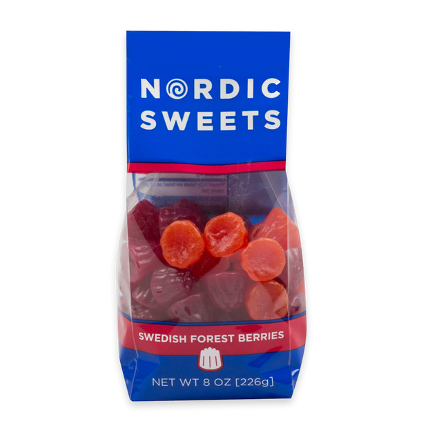 Nordic Sweets Swedish Forest Berries Bag