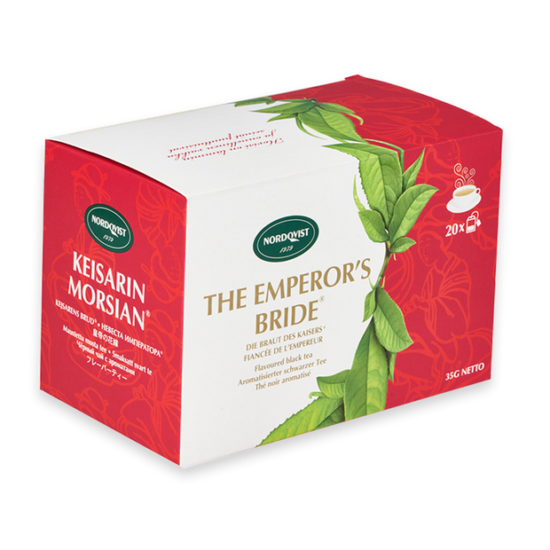 Nordqvist The Emperor's Bride - 20 Tea Bags (Black Tea)