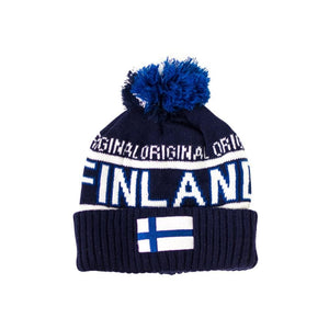 Original Finland Flag Winter Hat Finnish Winter Hat Touch of Finland