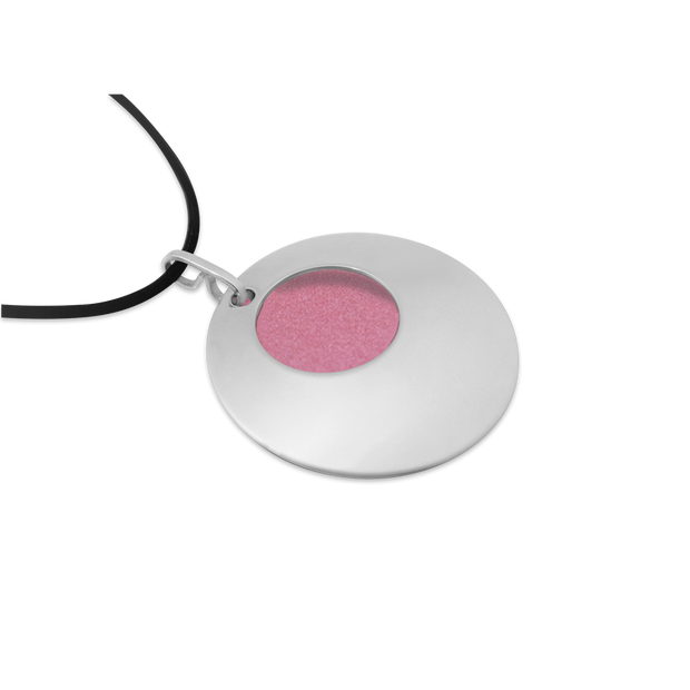 Pohjolan Helmi - Crescendo Necklace, Rose Pink