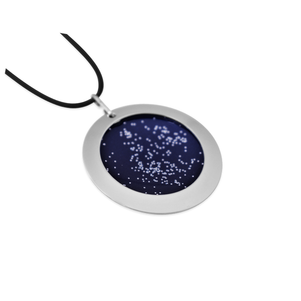 Pohjolan Helmi - Stars in the North Necklace, Midnight Blue (1402150977614)