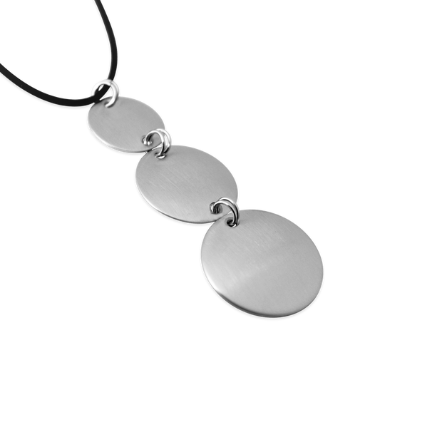 Pohjolan Helmi - Trioli Necklace, Brushed