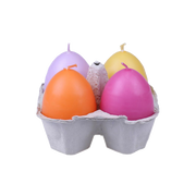 Puttipaja Egg Candle Pack of 4