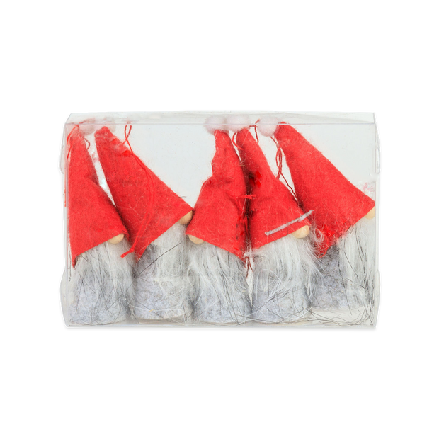 Tomte Ornaments (5 Pack)
