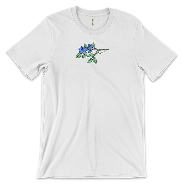 Blueberries T-Shirt (4190898290766)