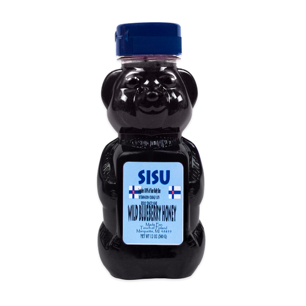 Sisu Wild Blueberry Honey (12 oz) (8762935814)