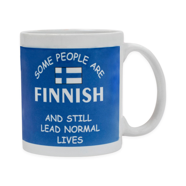 Finnish Coffee Mug - Some People Are Finnish And Still Lead Normal Lives