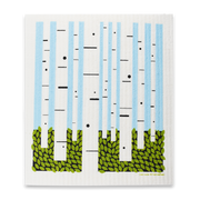 Swedish Dishcloth - Birch Trees, 8 Pack