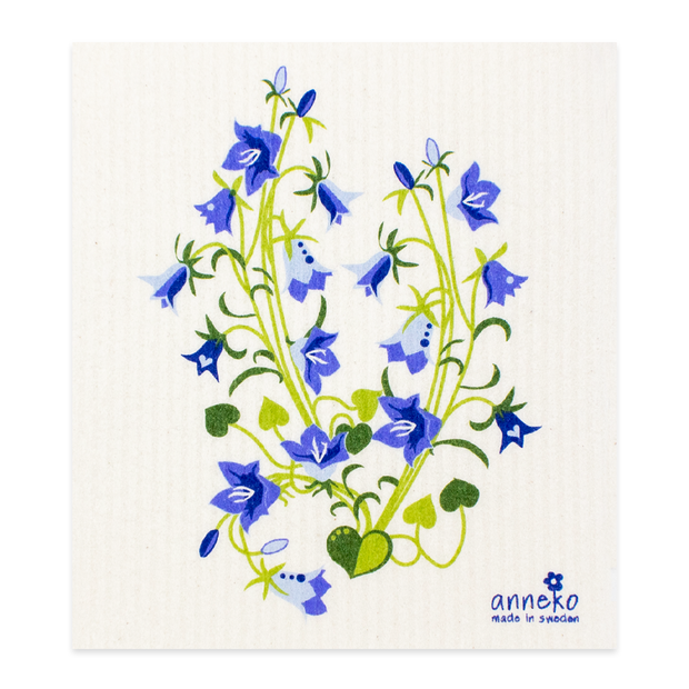 Swedish Dishcloth - Bluebell Plant