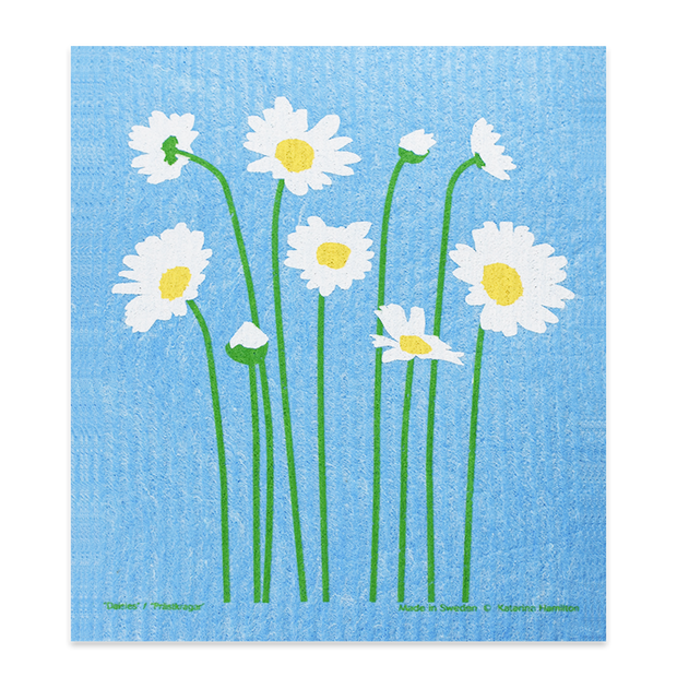 Swedish Dishcloth - Daisy