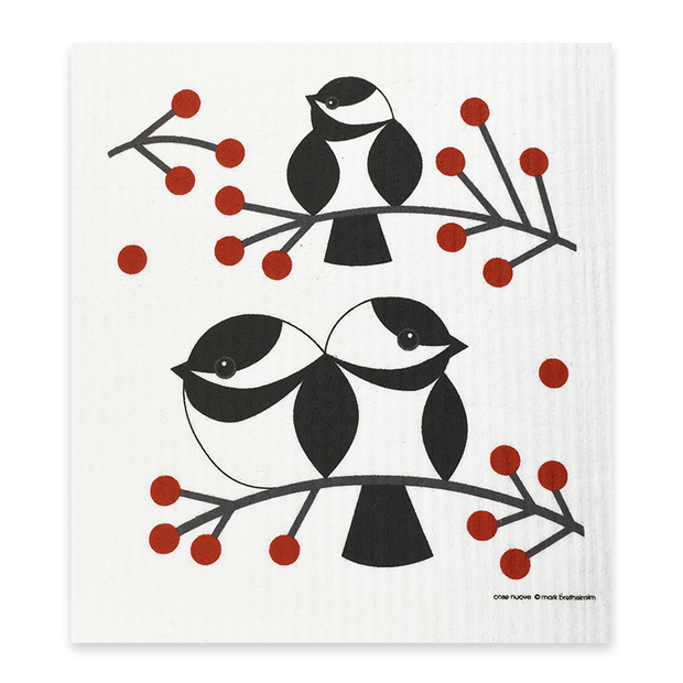 Swedish Dishcloth - Love Birds