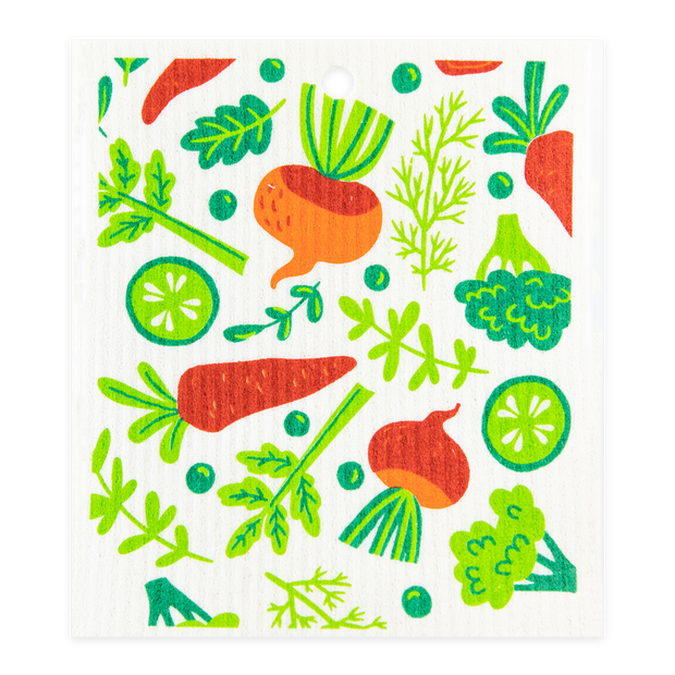 Swedish Dishcloth - Mini Vegetables