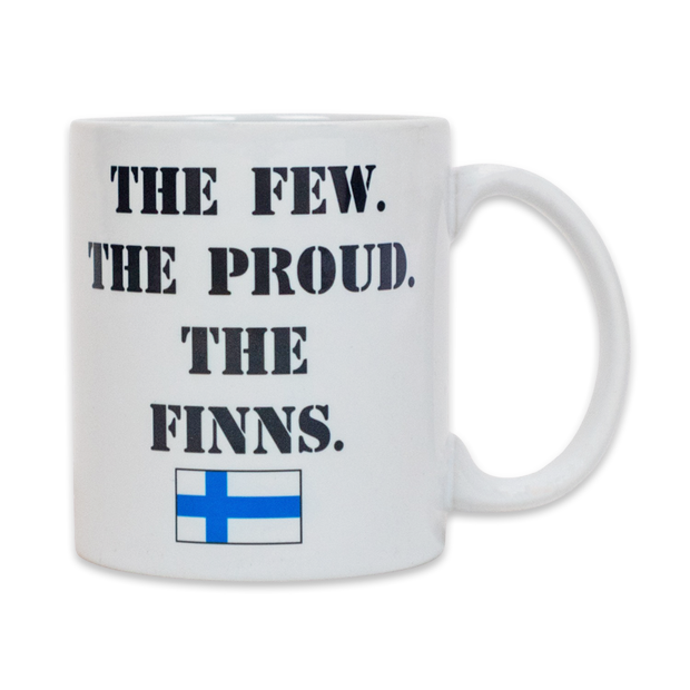 Finnish Coffee Mug - The Few. The Proud. The Finns. (7290062726)