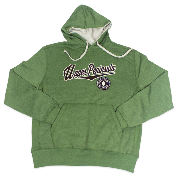 Upper Peninsula Heather Hoodie, Army Green