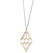Valona Diamond Birch Necklace, Natural