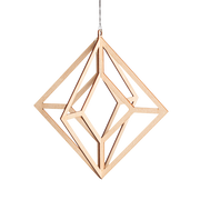 Valona Birch Himmeli Crystal Decoration, Natural