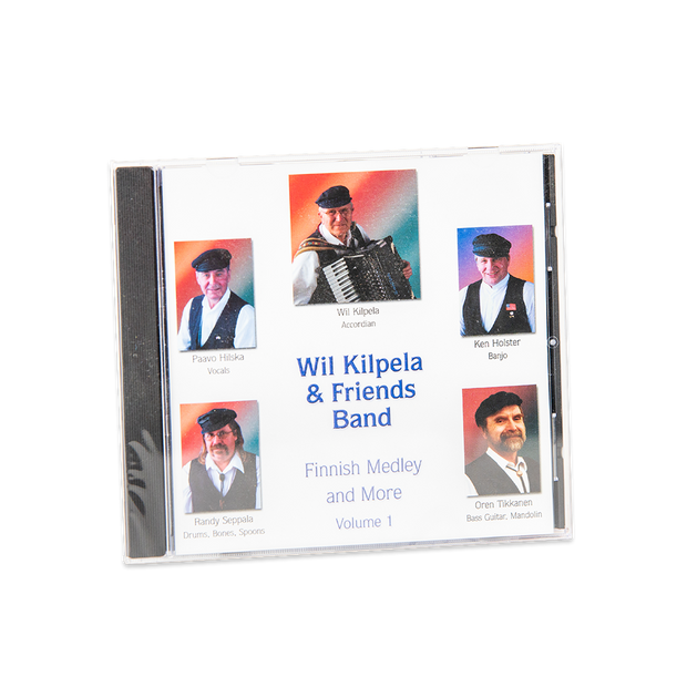 Wil Kilpela & Friends Band - Finnish Medley and More Vol. 1 (415226579)