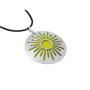 Pohjolan Helmi - Sun Necklace, Yellow