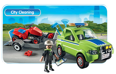 Playmobile | City Cleaning | Wear Kids Play Toy Shop