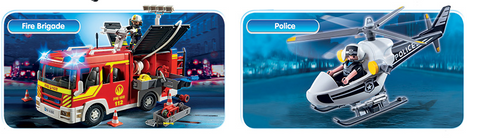 Playmobil | Police & Fire | Wear Kids Play Toy Shop