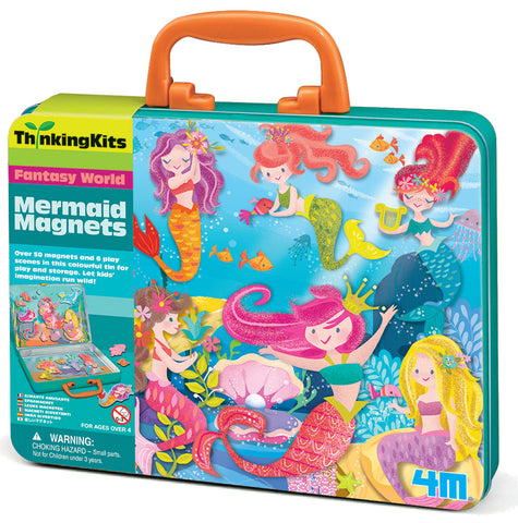 4M | Mermaid Magnets | Thinking Kits