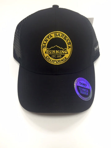 Yellow SB Running Trucker Hat