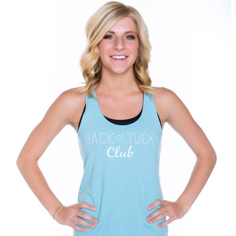Cheer Love Back Tuck Club Tank