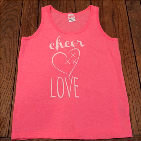 Youth Cheer Love Signature Tank