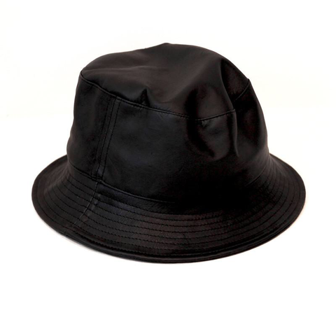 Bucket Hat (Possum Leather)