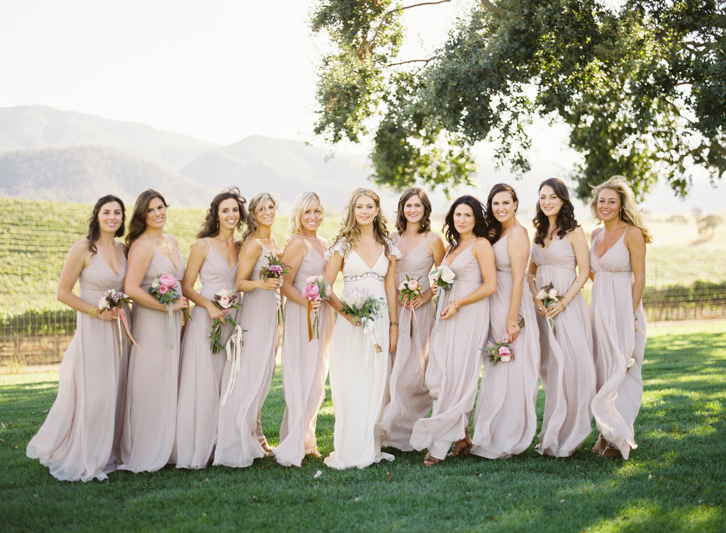 Elleen's Wedding: Saja Bridesmaids