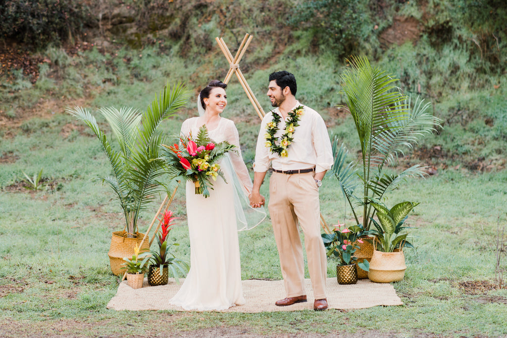 Tropical Styled Wedding Shoot