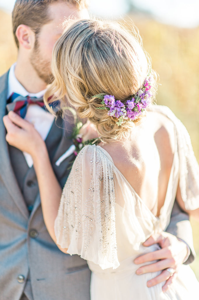 Vineyard Intimacy & Romantic Floral Styled Shoot